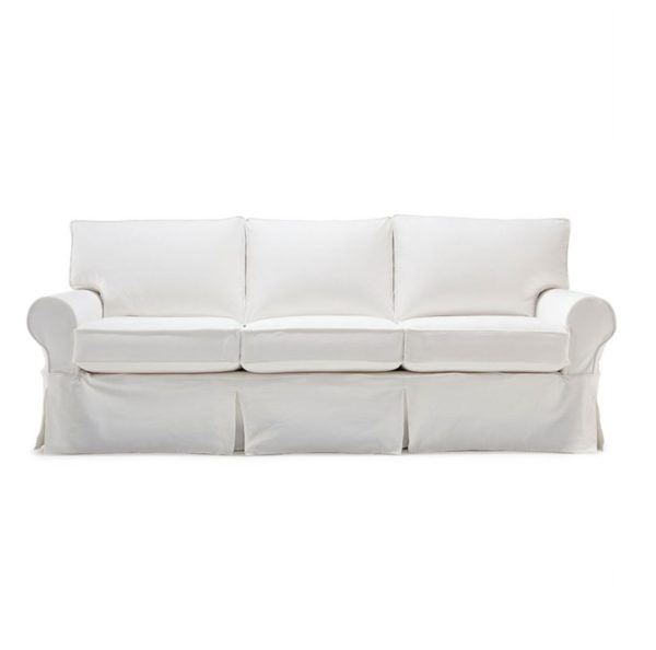 SLIPCOVERED SOFA