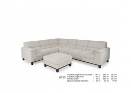 8155 FABRIC SECTIONAL