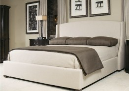 COOPER FABRIC WING BED