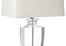 PHAT CRYSTAL URN TRANSITIONAL TABLE LAMP