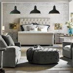 chic fabric bed