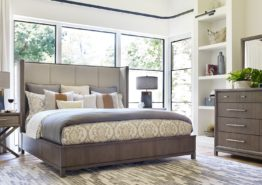BEDROOM: HIGHLINE UPHOLSTERED BED