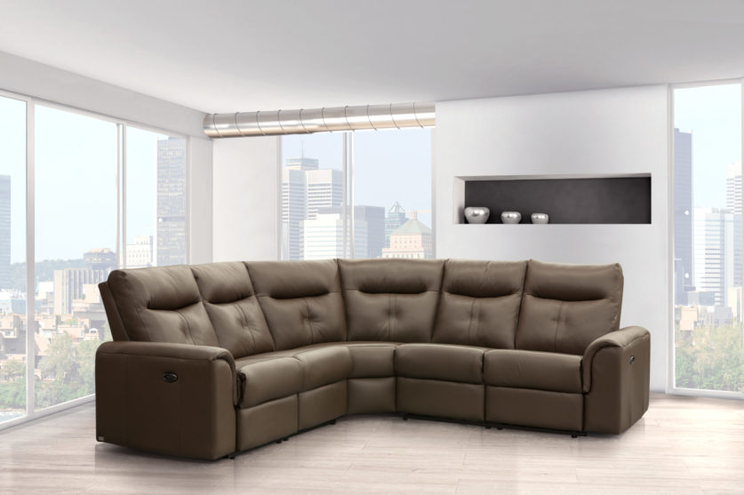 shape home ifuns reclining sofa set corner l leather style item recliner sectional modern european