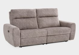 ELRAN 40949 DUAL POWER RECLINING COUCH