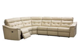 ELECTRIC RECLINING LEATHER SECTIONAL
