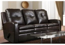ELRAN 90436 POWER RECLINING LEATHER COUCH