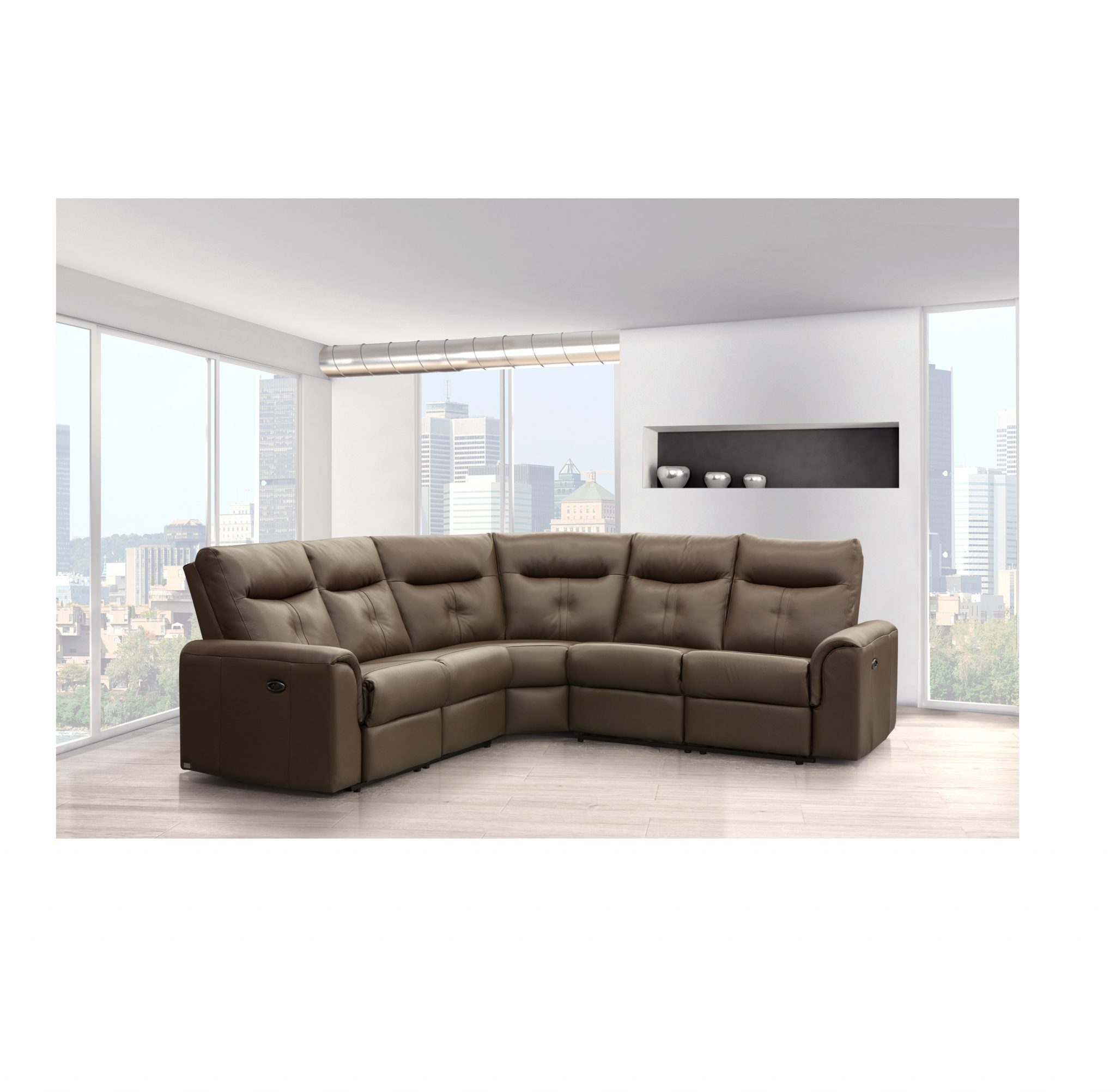 Cool Electric Reclining Leather Sectional Ncnpc Chair Design For Home Ncnpcorg