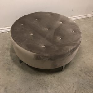 tufted foot stool
