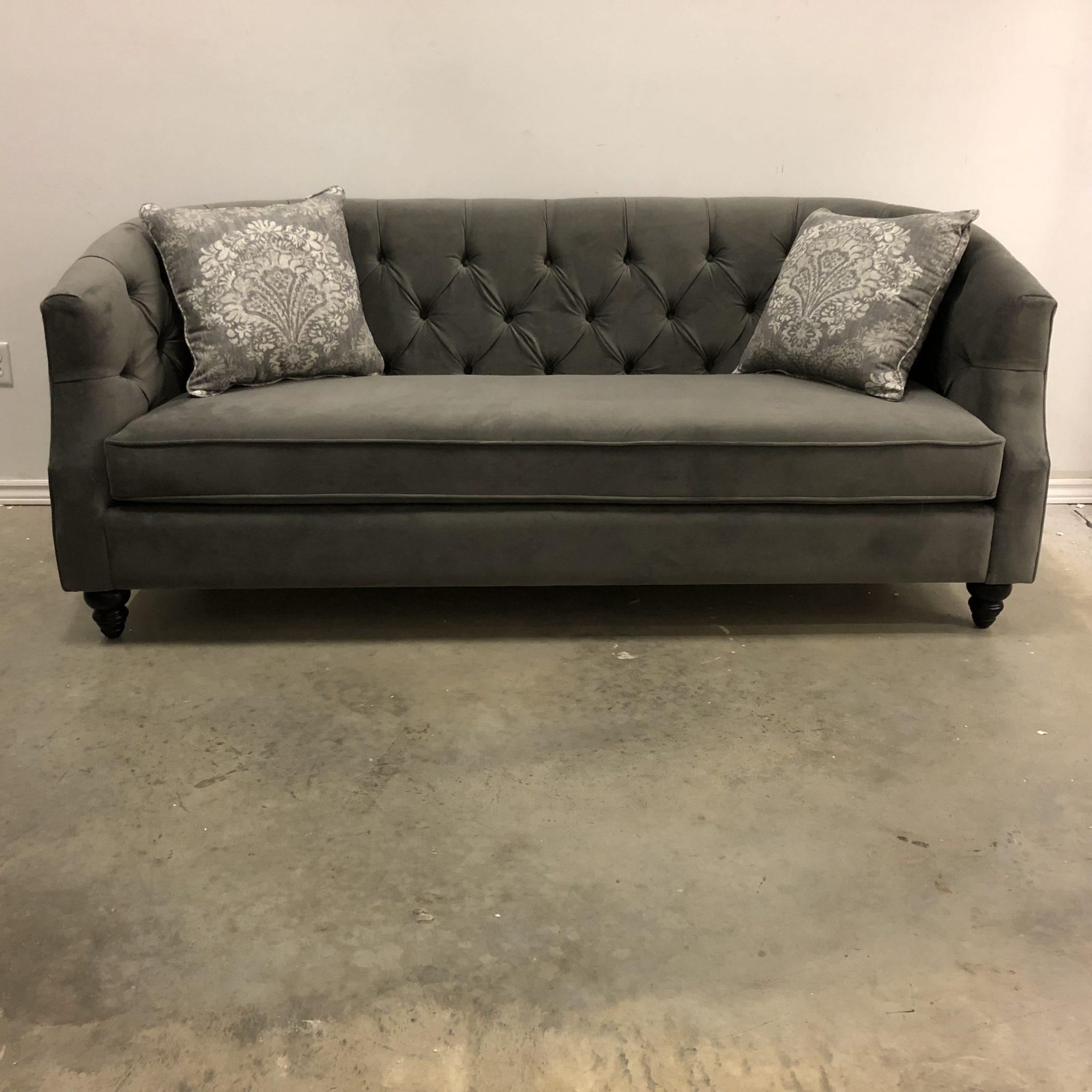 Daisy Tufted Fabric Sofa