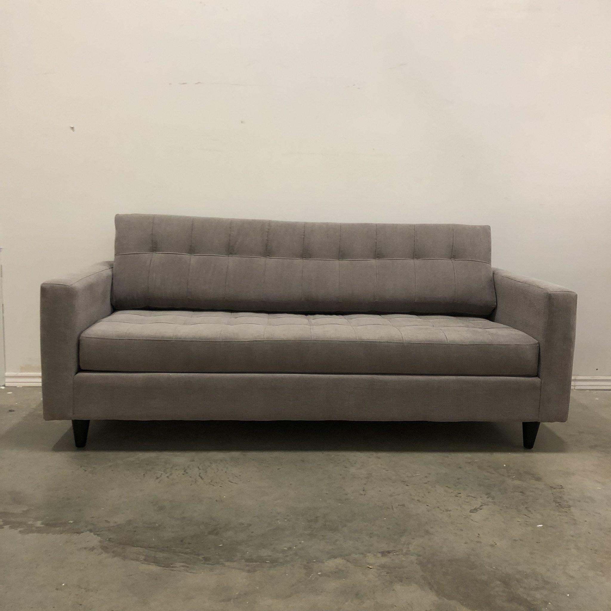 Adam Reversible Tufted Fabric Sofa Hayward S The Best