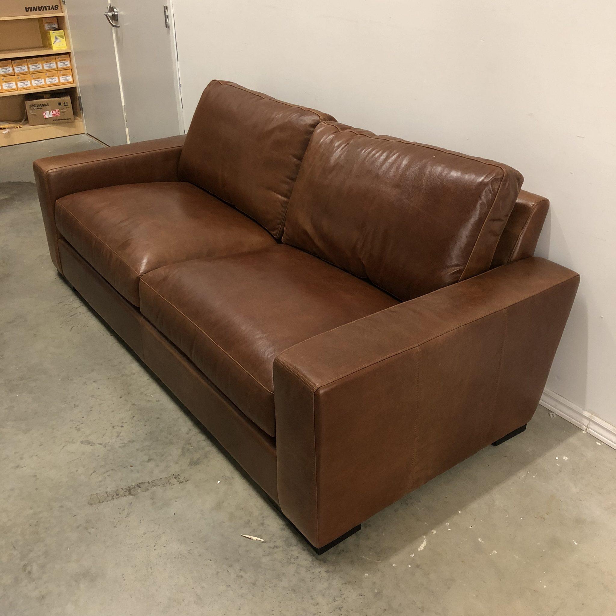Brilliant Maxwell Custom Leather Sofa Home Remodeling Inspirations Gresiscottssportslandcom