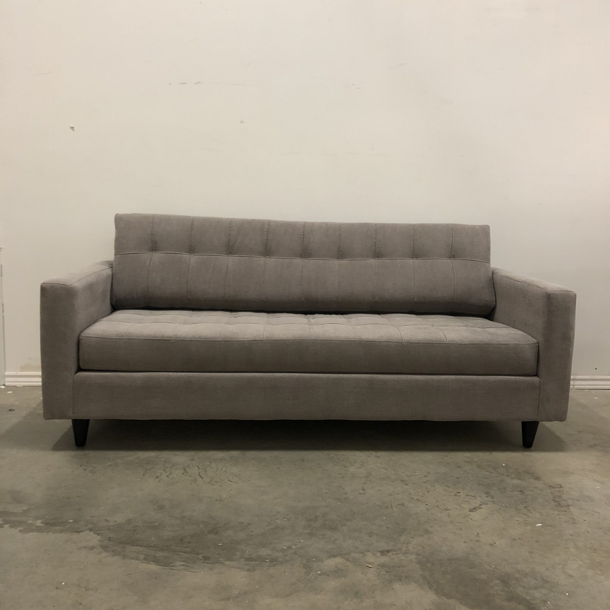 ADAM REVERSIBLE TUFTED FABRIC SOFA