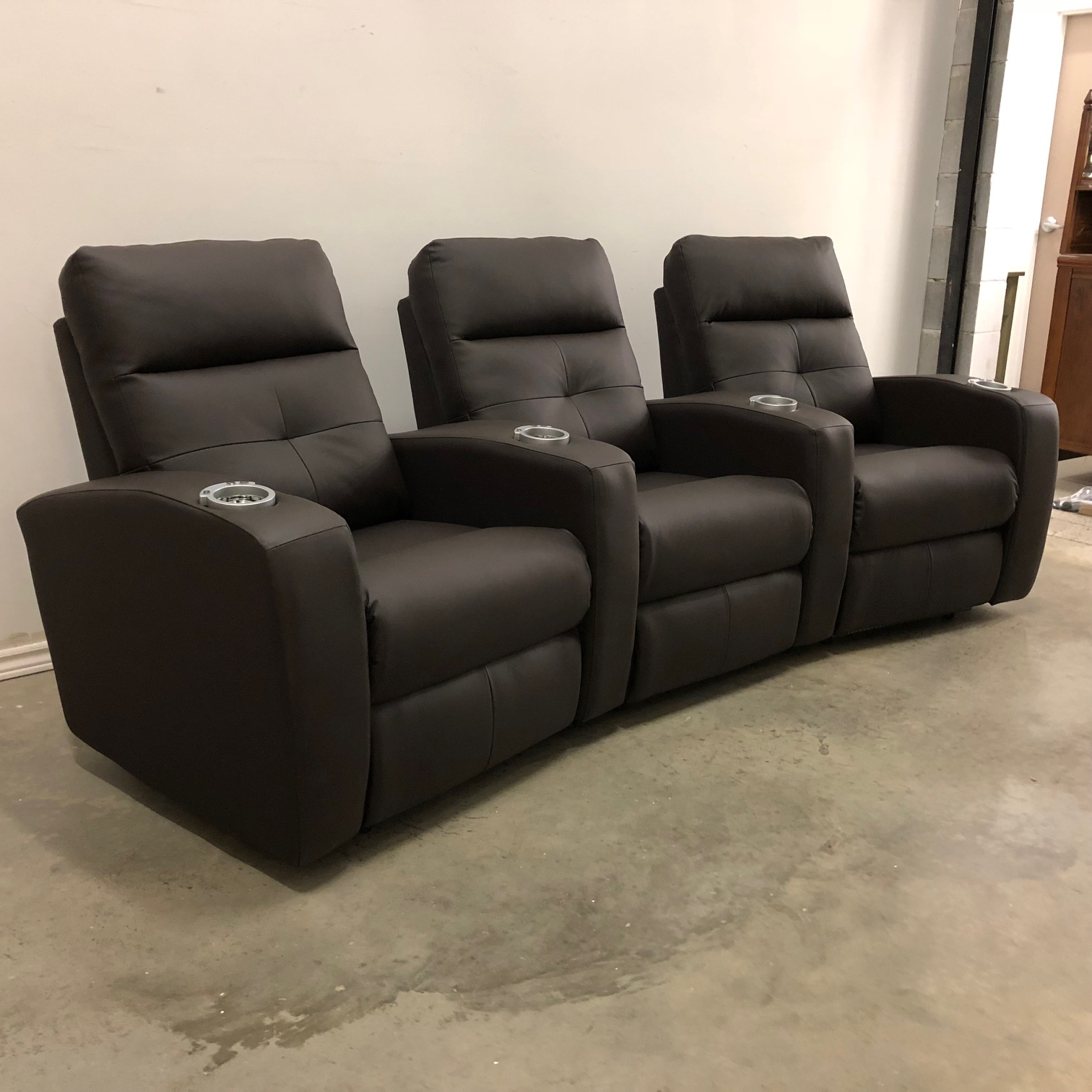 Troy Electric Reclining Theatre Seating