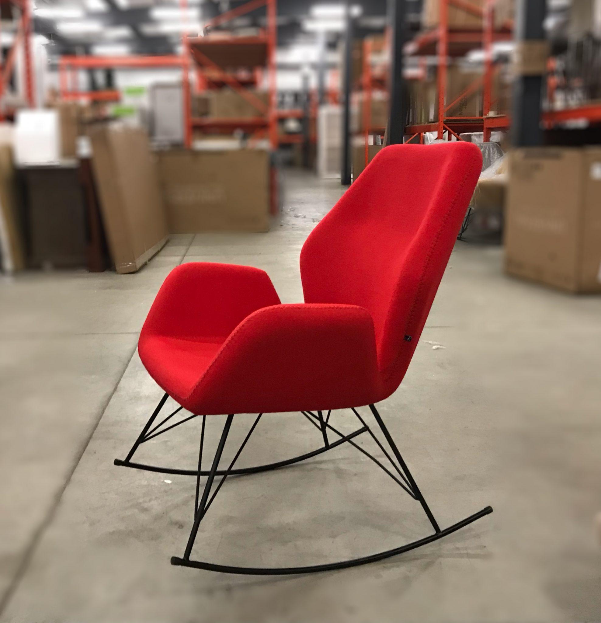 Loula Modern Rocking Chair