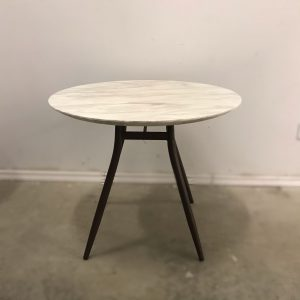 Polar Round Marble Top Table