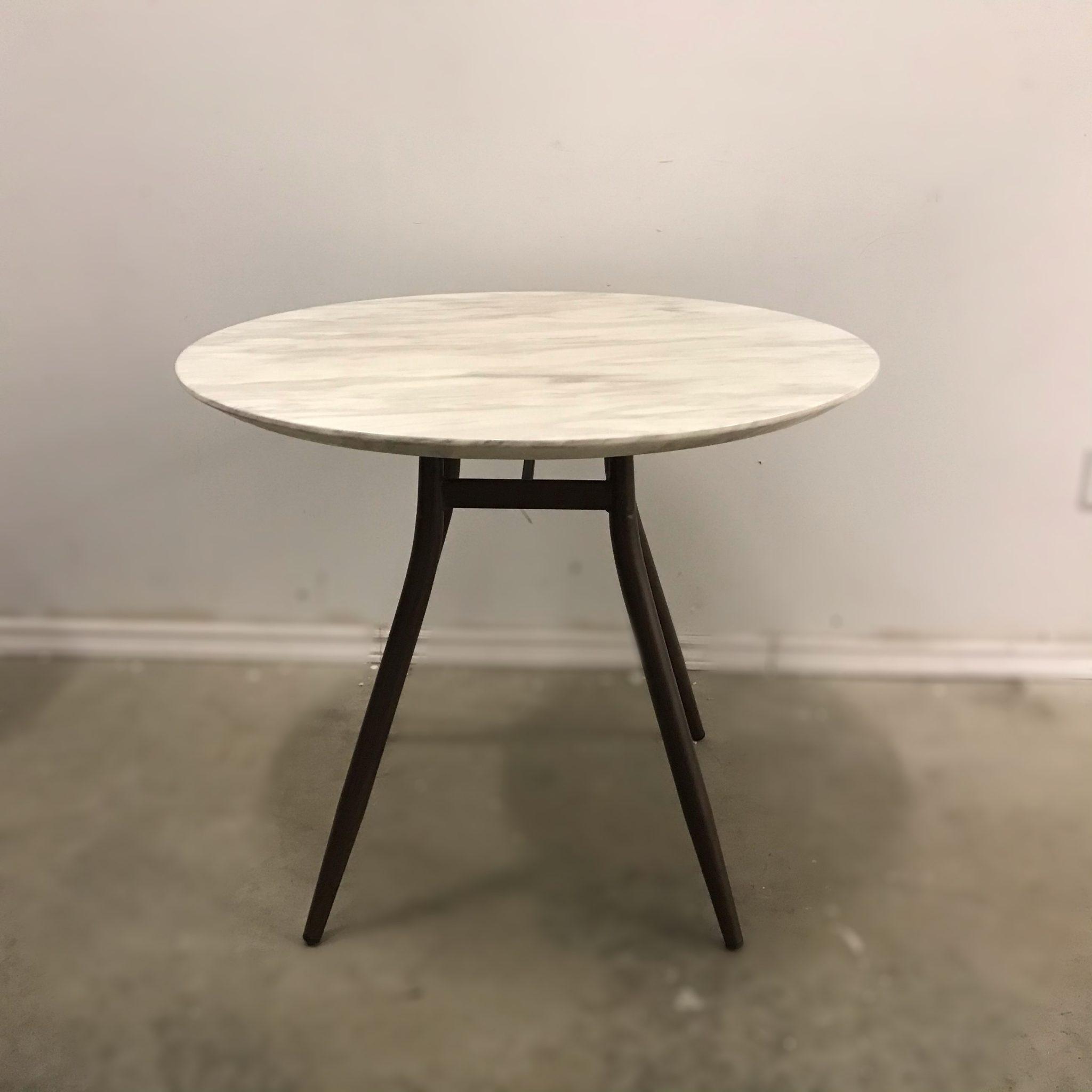 Polar Round Marble Top Table